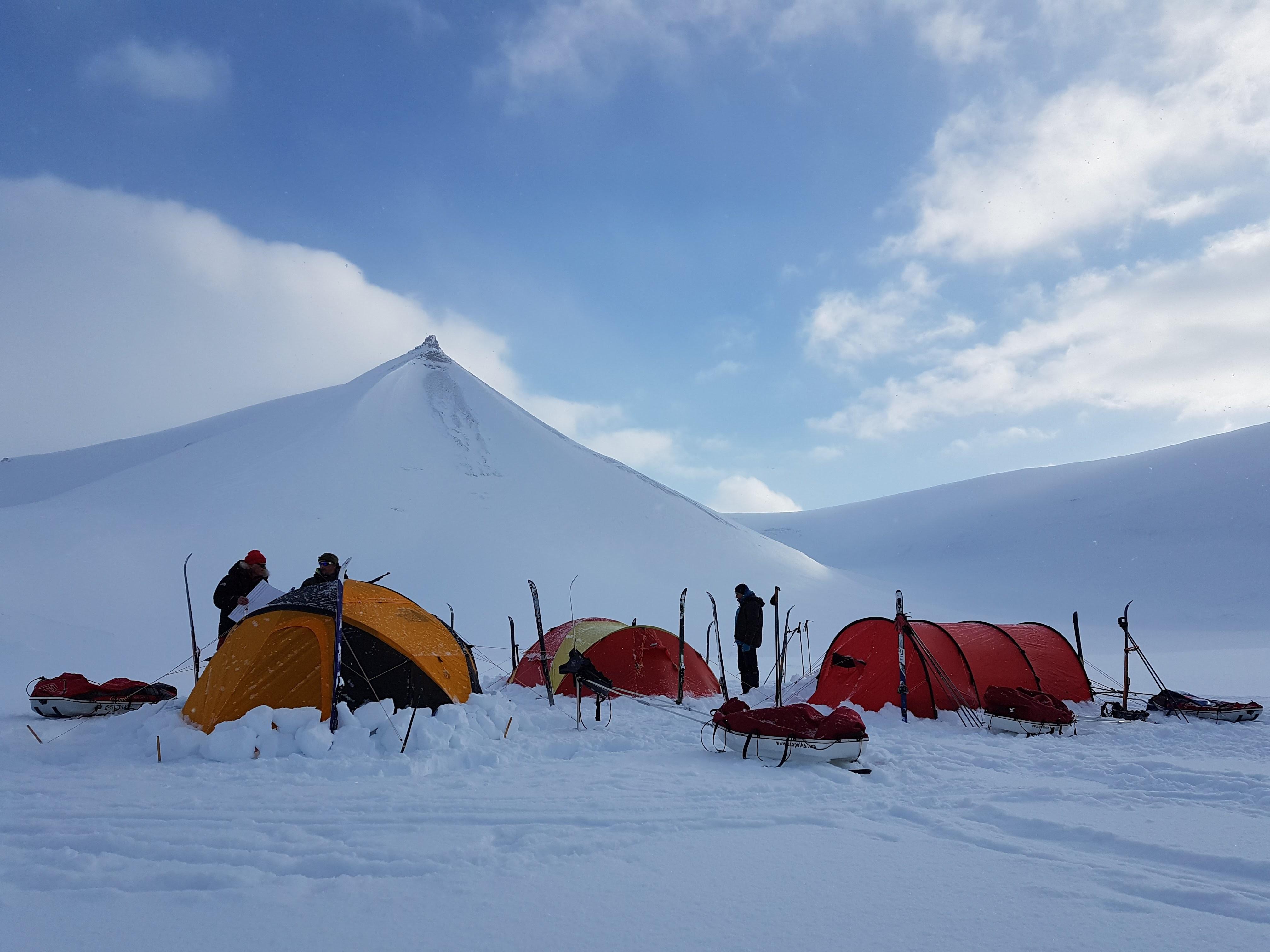 Gleden med teltlivet